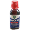 Vicks Nyquil Cough Nighttime Relief Cherry Flavor Liquid 8 Fl Oz, 8 fl oz
