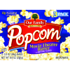 Our Family Movie Theater Butter Microwave Popcorn, 3.3 oz, 3 ct