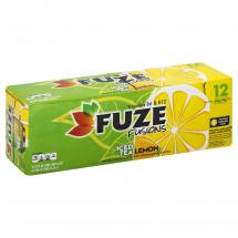 Fuze Lemon Iced Tea, 12 oz, 12 ct