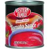 Western Family Fancy Select Tomato Sauce, 8 oz