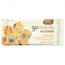 GoMacro Sunflower Butter & Chocolate Protein Bar, 2.3 oz