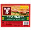 Bar S Deli Shaved Turkey Breast, 14 oz