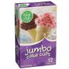 Food Club Jumbo Cones, 12 ct