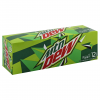 Mountain Dew Soda, 12 fl oz, 12 ct