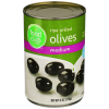 Food Club Olives, Medium Pitted, 6 oz