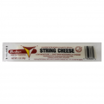 Baker Wisonsin Natural String Cheese, 1.0 oz