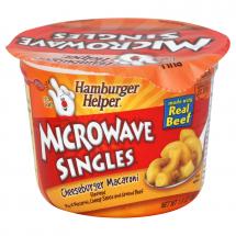 Hamburger Helper Microwave Singles Cheeseburger Macaroni, 1 ct