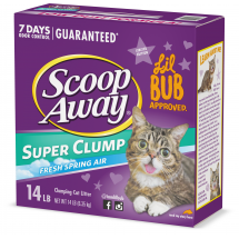 Scoop Away Clumping Cat Litter Fresh Scent, 14 lb