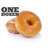 Glazed Donuts, One Dozen
