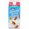 Blue Diamond Almond Breeze Almondmilk Original Unsweetened, 1/2 gal