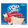 Kellogg's Pop-Tarts Frosted Strawberry Flavor, 22 oz, 12 ct