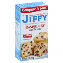 Jiffy Raspberry Muffin Mix, 7 oz