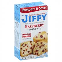 Jiffy Raspberry Muffin Mix, 7 oz