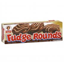 Little Debbie Fudge Rounds Snack Cakes, 9.5 oz, 8 ct