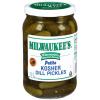 Milwaukee's Midget Kosher Dill Pickles, 32 fl oz
