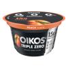 Dannon Oikos Triple Zero Nonfat Yogurt Peach, 5.3 oz