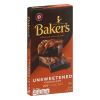 Baker's Unsweetened Chocolate Baking Bar, 4 oz