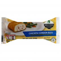 Milford Valley Chicken Cordon Bleu Stuffed Patty, 5 oz