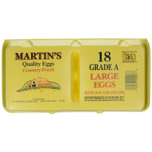 MARTIN'S LARGE EGGS 18 COUNT