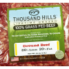 Thousand Hills 80% Lean 20% Fat Ground Beef Grass Fed, 16 oz