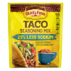 Old El Paso Taco Seasoning Mix 25% Less Sodium, 1 oz