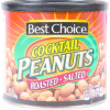 Best Choice Cocktail Peanuts, 12 oz