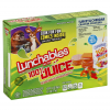 Lunchables Turkey & Cheddar Cracker Stackers with 100% Juice, 3.2 oz crackers, 6 fl oz juice