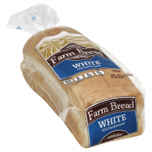 Farm Bread White Old Fashioned Bread, 24 oz