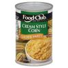 Food Club Creamy Style Corn, 14.75 oz