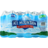 Ice Mountain Water 100% Natural Spring Water, 16.9 oz, 24 ct