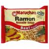 Maruchan Beef Ramen Noodle Soup, 3 oz