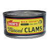 Bumble Bee Minced Clams in Clam Juice, 6.5 oz