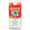 Horizon Organic Fat-Free Milk, 1/2 gal