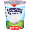 Stonyfield Organic Whole Milk Plain Yogurt, 1 ct