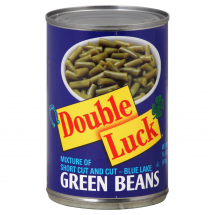 Double Luck Green Beans, 14.5 oz