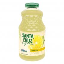 Santa Cruz Organic Lemonade, 32 fl oz