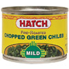 Hatch Mild Fire-Roasted Chopped Green Chiles, 4 oz