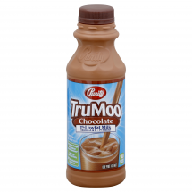 Meadow Gold TruMoo 1% Low Fat Chocolate Milk, 1 pt