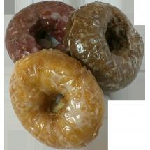Bowman's Glazed Cake Donut