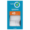 Simply Done Plastic Spoons, 48 ct