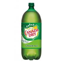 Canada Dry Caffeine Free Ginger Ale, 2 lt
