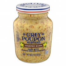Grey Poupon Mustard Country Dijon, 8 oz