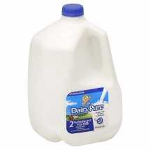 DEANS DAIRY PURE 2% Reduced Fat Milk, 1 gallon