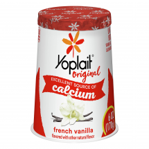 Yoplait Original 99% Fat Free Yogurt, French Vanilla, 6 oz
