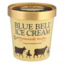 Blue Bell Homemade Vanilla Ice Cream, 1 ct.