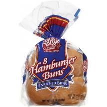 Shur Fine Hamburger Buns, 11 oz, 8 ct