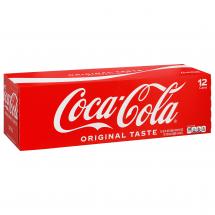 Coca Cola Canned Soda, 12 ct