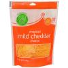 Food Club Shredded Mild Cheddar, 8 oz